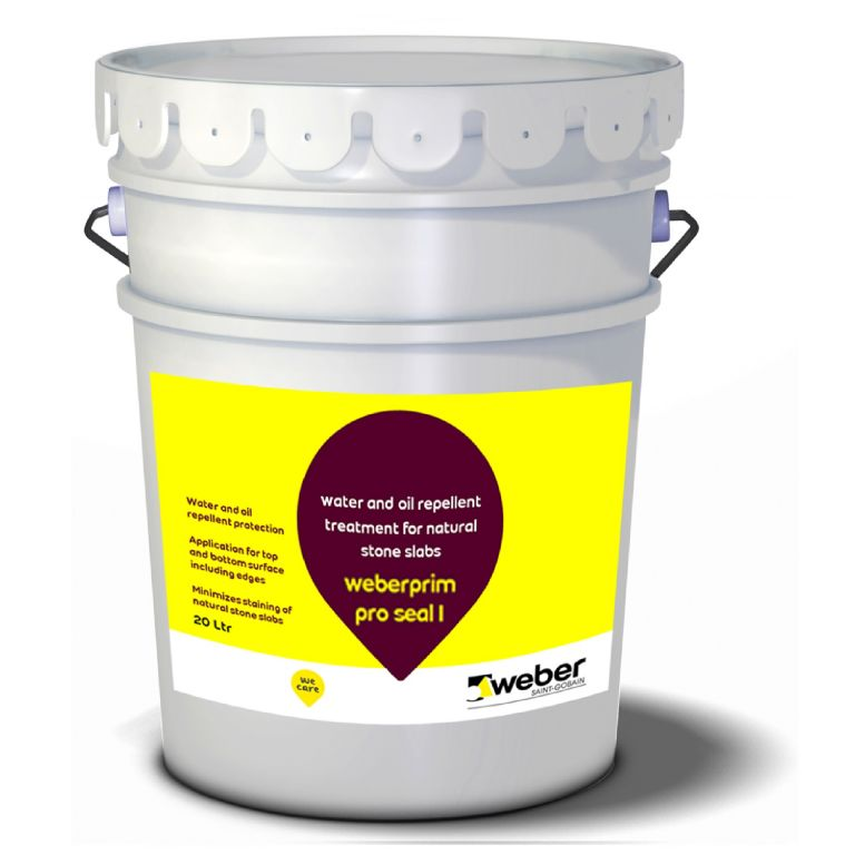 natural stone, oil and water repellent